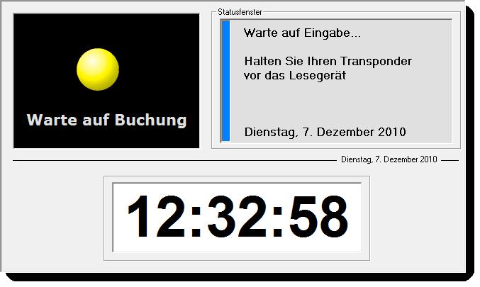 Transponder zeiterfassung tracking support for Ui offenbach